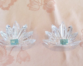 Mikasa-Germany Vintage Candle Holders in Mint Condition and A Special Buy!!  Perfect Look For Any Occasion!!