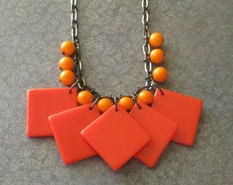 Orange Crush necklace