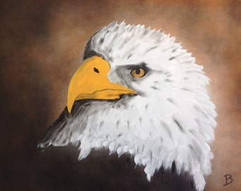 Painting of Eagle Animal Painting