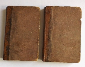 Horace Smith, The New Forest A Novel, complete in two volumes 1st US Edition 1829, printed by J & J Harper, Historical Story, Vintage Book