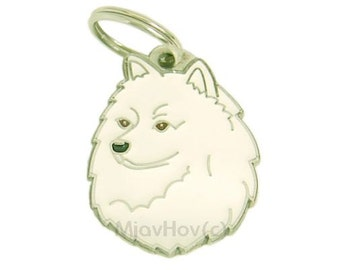 Pet tags MjavHov engraved SPITZ