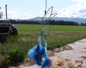 HummingBird dream catcher, shipping included with in Continental United States