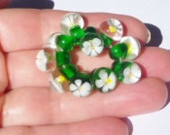 Lampwork Tutorial for Daisy Drop beads. PDF Instant Download Chrys Art Glass
