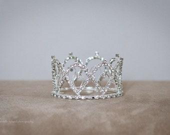 Rhinestone Mini Crown ~ B