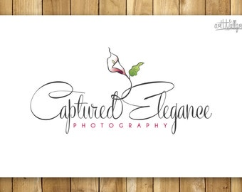 Flower Photography Logo Design