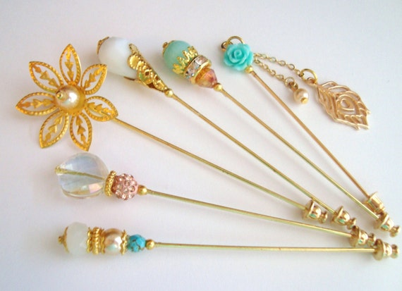 how to make hijab stick pins