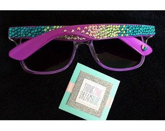 Mermaid inspired Sunglasses