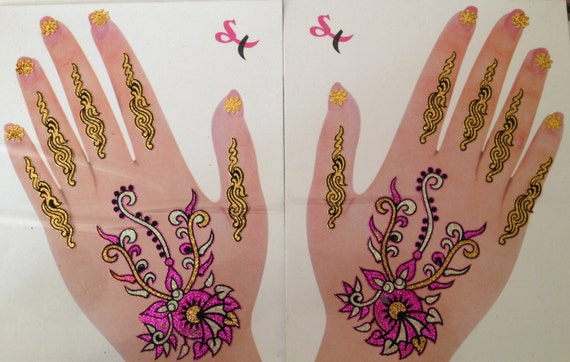 how to make peel off henna