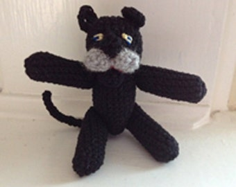 Crocheted Panther Pattern