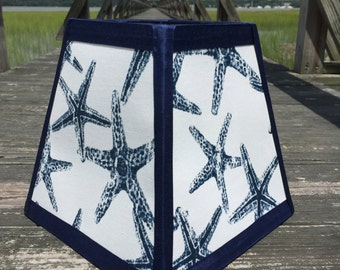 Starfish Square Lamp Shade