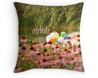 Inspirational Decor, 30th Birthday Gift, Anniversary Gift, Inspirational Cushion, Gardeners Gift, Garden Decor, Inspirational Throw Pillow