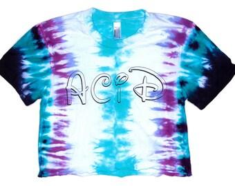 Acid cropped shirt
