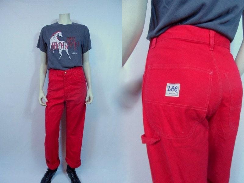 Painters Pants Vintage Lee 70's Painter Pants Vintage