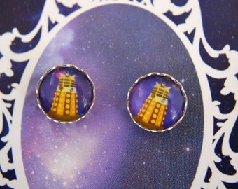 Doctor Who - Dalek earring set