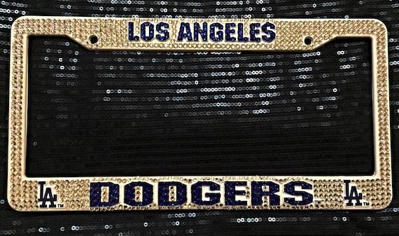 Los Angeles Dodgers Baseball Inspired Bling By Livelaughshine