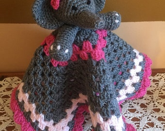 Crochet Baby/Toddler/Child Lovey or Security Blanket