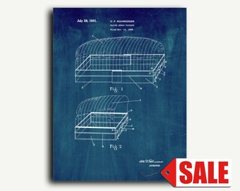 Patent Art - Sliced Bread Package Patent Wall Art Print