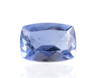 Blue Color Change Fluorite Loose Gemstone Cushion Cut 1A Quality 7x5mm TGW 0.90 cts.