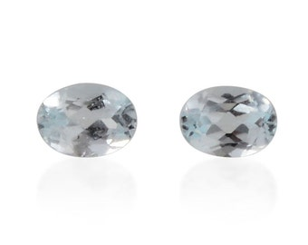 Sky Blue Topaz Oval Cut Loose Gemstones Set of 2 1A Quality 4x3mm TGW 0.30 cts.