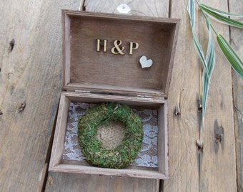 Ring box decoration Mr.Mrs.Initials/wedding,hochzeit,bride,wedding