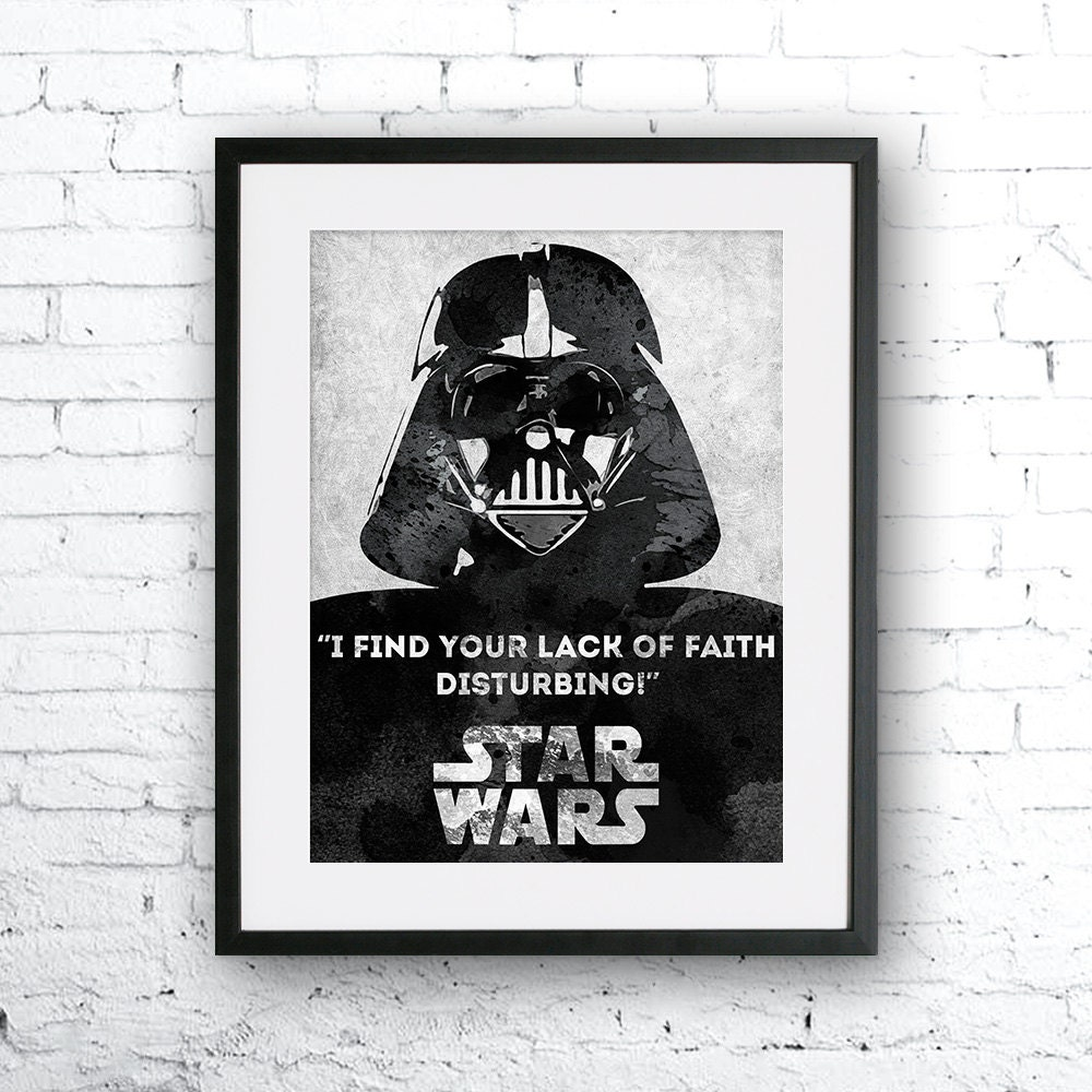 affiche de star wars affiche du film citation de star wars. Black Bedroom Furniture Sets. Home Design Ideas