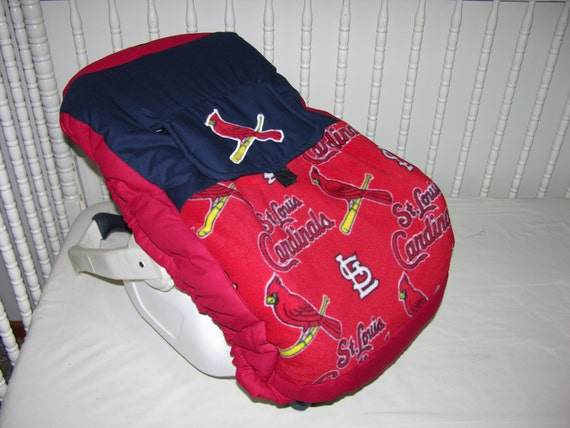 St Louis Cardinals Infant Seat Cover