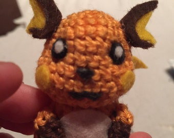 MADE TO ORDER: Raichu Keychain