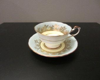 Paragon Cup and Saucer - Light Blue