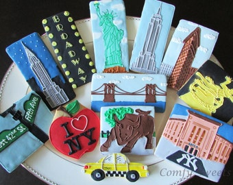 Trip to New York Cookies