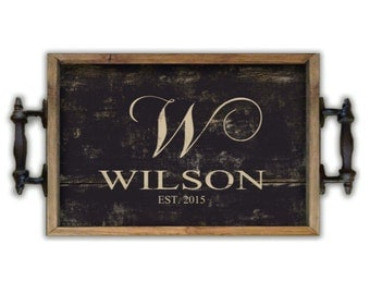Personalized trays custom trays personalized gifts wedding gifts wooden trays bridal gifts housewarming gifts Decorative tray kitchen trays