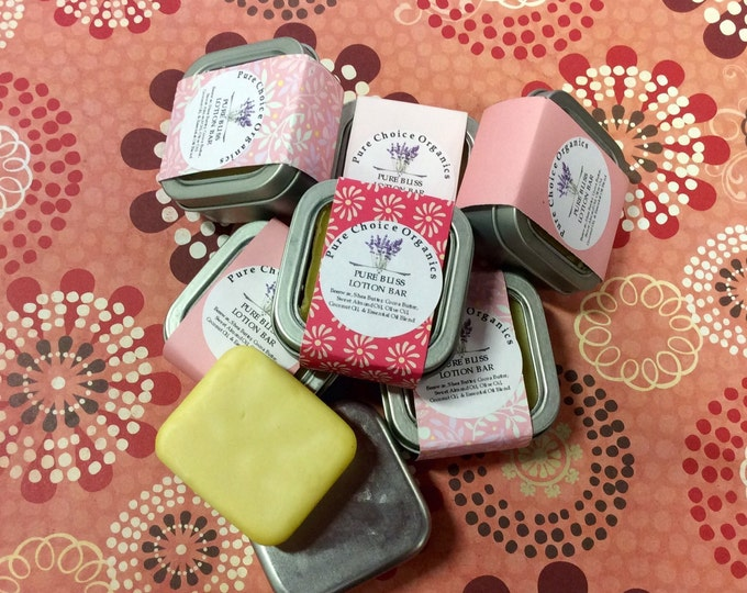 Featured listing image: Pure Bliss Lotion & Massage Bar l Gifts Under 10
