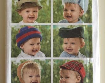 Simplicity 3555 - Infant Hat Pattern - Uncut, Unused, New