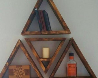 Triangle Shelves -  FREE SHIPPING: Limited Time!