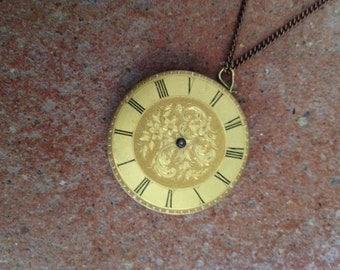 Vintage watch pendant