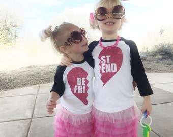 Best Friends, Shirt. Several colors & sizes available.