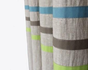 High End Bespoke Minimalist Children S Curtains By Dottystripesuk