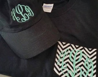 Pocket T-Shirt and Hat Combo