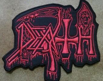 Death Embroidered Patch Control Denied Massacre