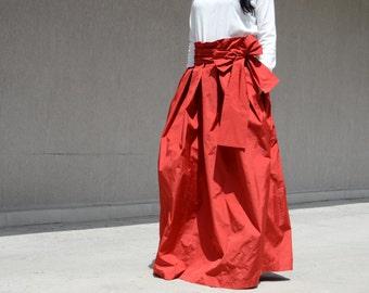 High waist, extravagant skirt, long skirt, woman long skirt, fashion skirt, maxi skirt, oversize skirt, modern skirt, asymmetrical skirt