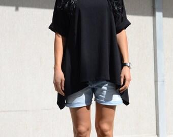 top long loose, blouse loose top, top loose summer, loose fitting top, loose fitting top, plus size top, tunic tops loose, plus size tunic