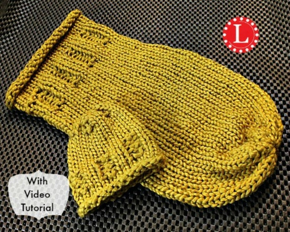 Loom Knit Pattern for Baby Cocoon for Newborn and Preemie with