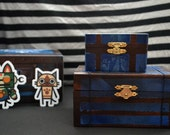Monster Hunter Item Box Small BLUE