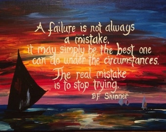 Inspirational Quote Painting