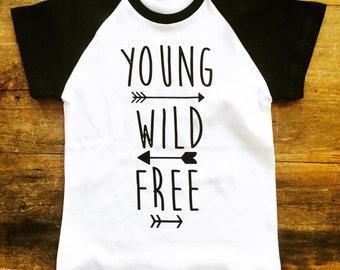 Kids Organic Raglan T-shirt