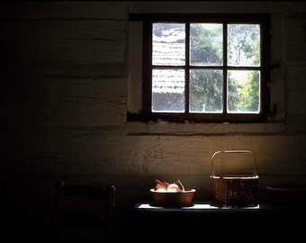 Morning Light - Original Fine Art Photograph - Kitchen Table