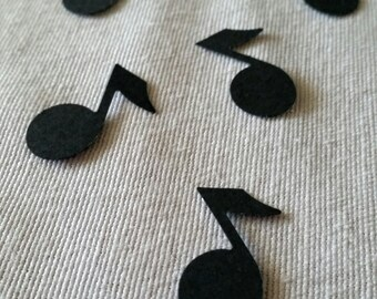Music Note, Music Party, Music Party Decorations,  Music Note Confetti