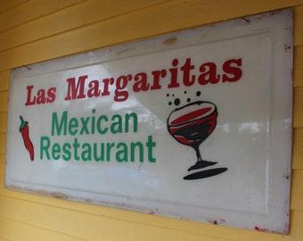 Huge Vintage Mexican Restaurant Sign