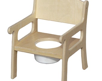 Child's Potty Chair for Potty Training - Unfinished or Finished