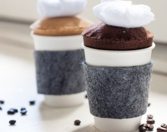 Felt Coffee for Two