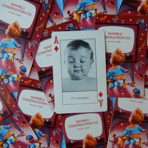 Baby poker cards